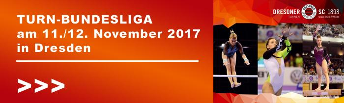 Turn-Bundesliga am 11. und 12. November 2017 in Dresden